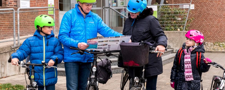 Fahrradfahren in Neumünster