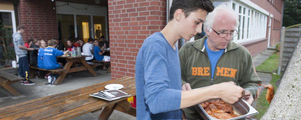 Verpflegung Scharbeutz Jugendgruppencamp