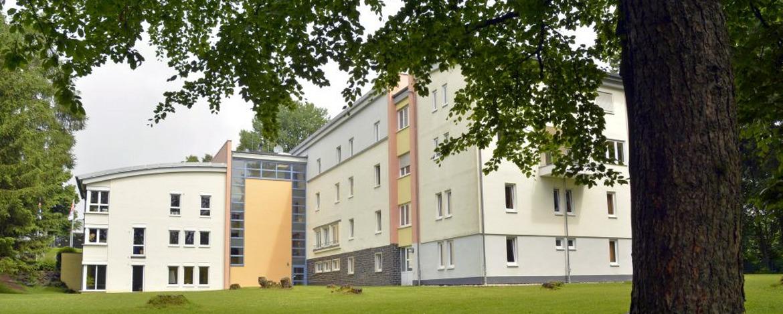 Rückansicht der Jugendherberge Bad Marienberg