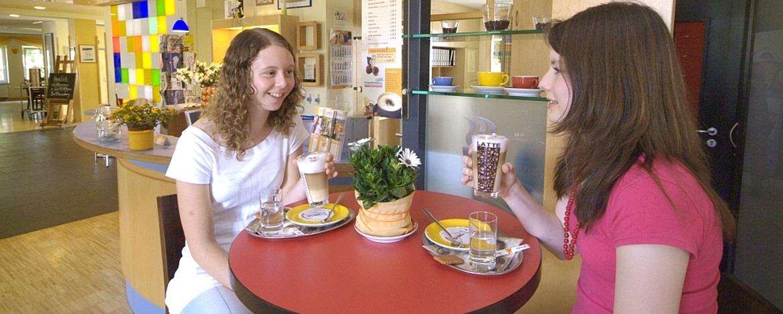 Café-Bar der Jugendherberge Bad Marienberg