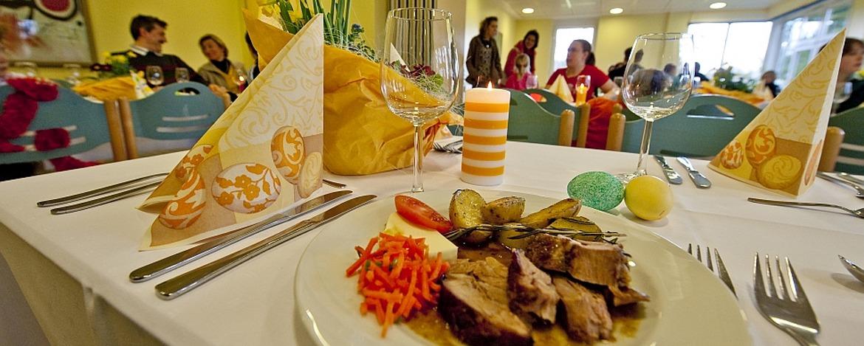 Schmackhafte Speisen in der Jugendherberge Bad Marienberg