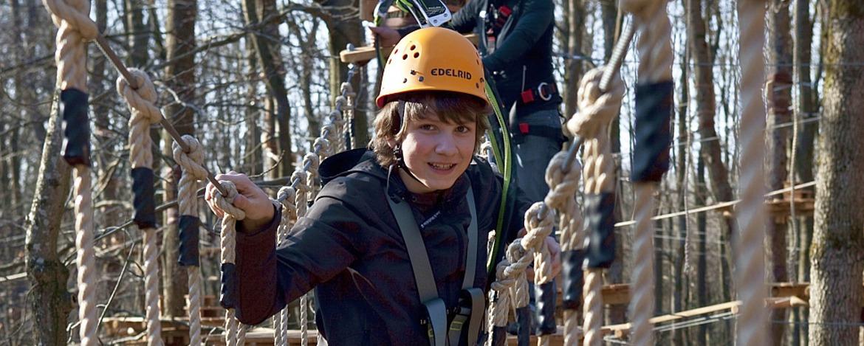 Erlebnisprogramm im Kletterwald