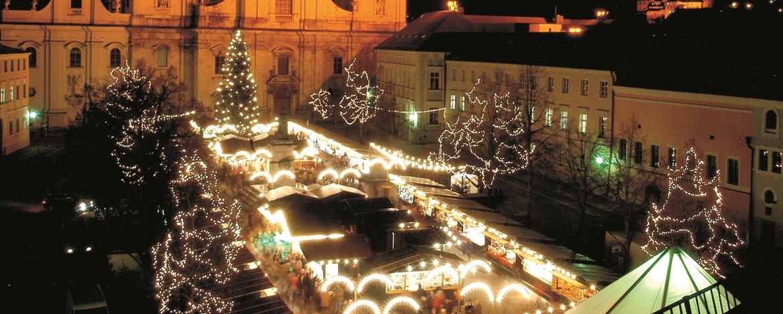 Der Christkindlmarkt am Passauer Dom