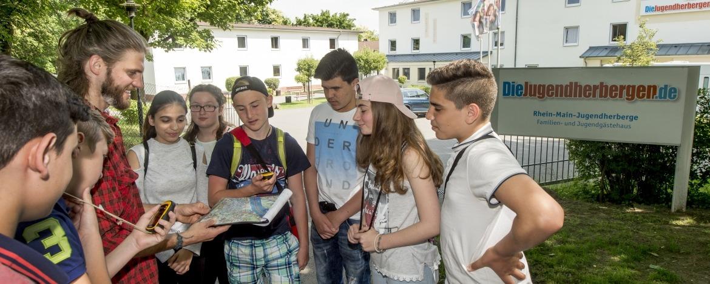 Erkundungstour rund um die Jugendherberge Mainz