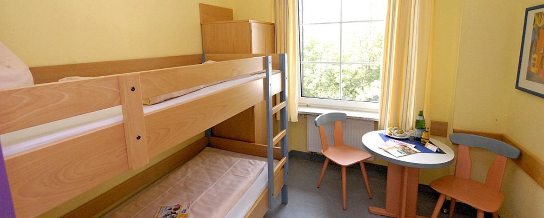 Zimmer der Jugendherberge Manderscheid