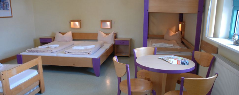 Zimmer der Jugendherberge Neustadt