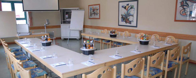 Tagungsraum der Jugendherberge Neustadt