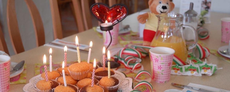 Kindergeburtstage feiern in der Jugendherberge Neustadt