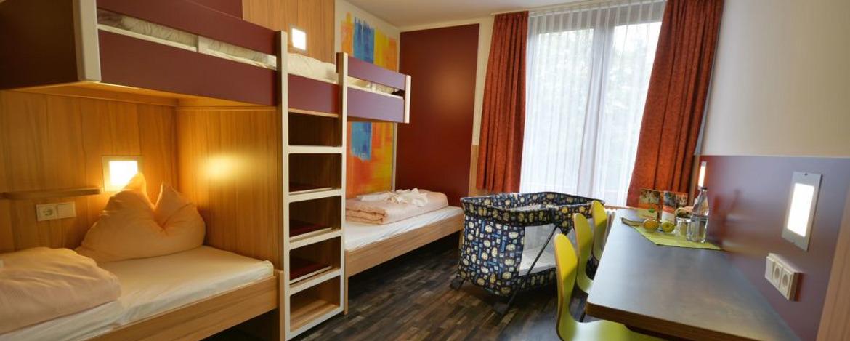 Zimmer der Jugendherberge Oberwesel