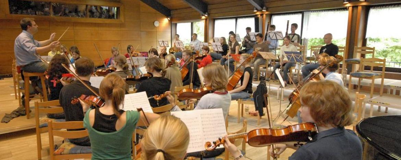 Musikprobe in der Jugendherberge Oberwesel