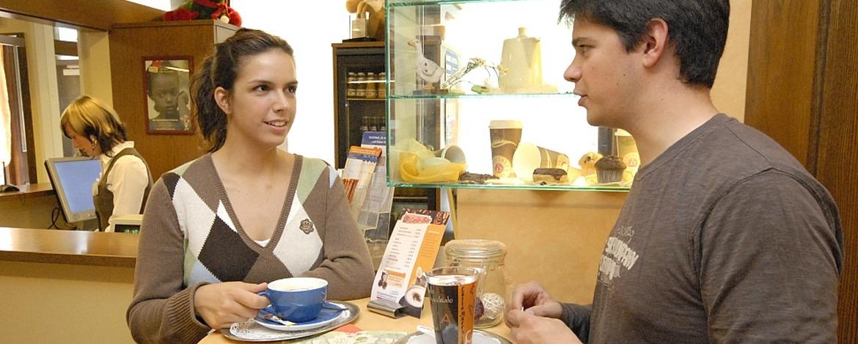 Café-Bar der Jugendherberge Oberwesel