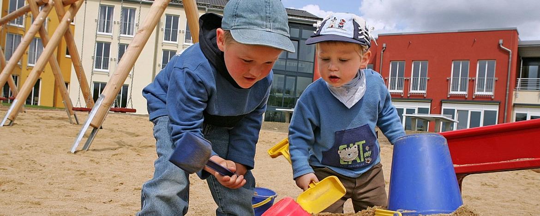 Spielplatz der Jugendherberge Prüm