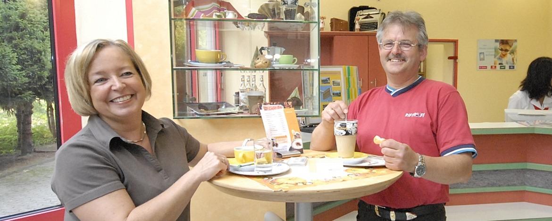 Café-Bar der Jugendherberge Saarbrücken