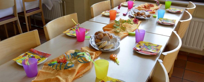 Kindergeburtstage feiern in der Jugendherberge Sargenroth