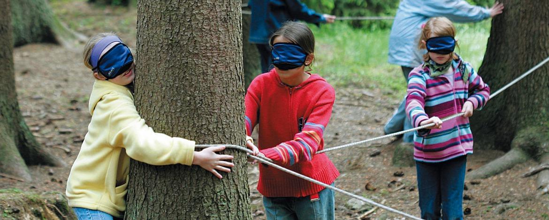 Naturnahes Erlebnisprogramm der Jugendherberge Sargenroth
