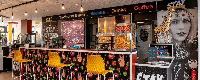 Café-Bar der Jugendherberge Speyer