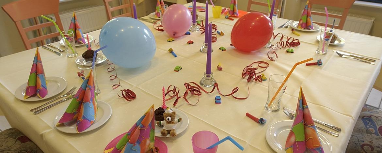 Kindergeburtstage feiern in der Jugendherberge Speyer