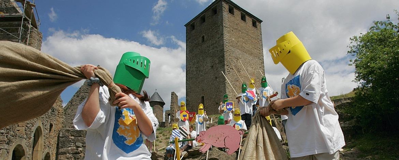 Ritter sein auf Burg Lichtenberg