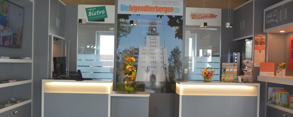 Rezeption der Jugendherberge Tholey