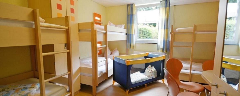 Zimmer der Jugendherberge Trier