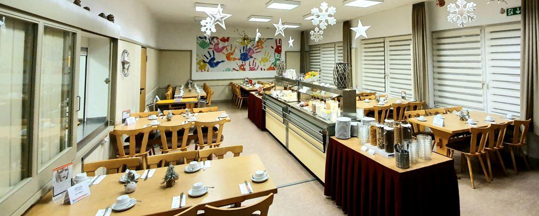 Restaurant der Jugendherberge Weiskirchen