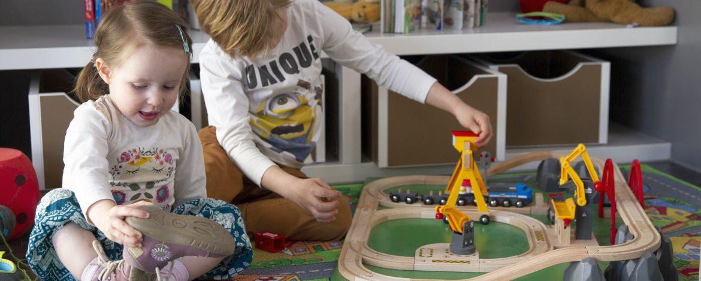 Kinderspielecke der Jugendherberge Wolfstein