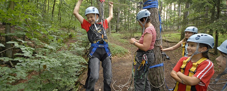 Naturnahes Erlebnisprogramm der Jugendherberge Wolfstein