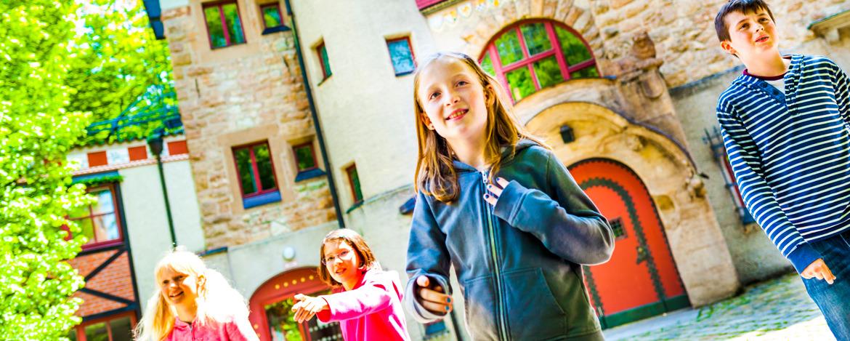 Leben in der Burg - auf Klassenfahrt in die Jugendherberge