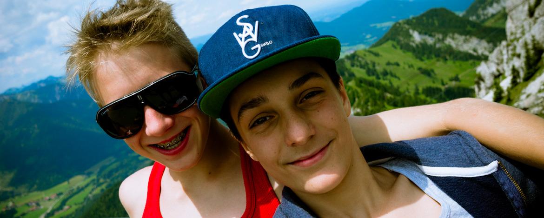 Hammer Selfie am Berg