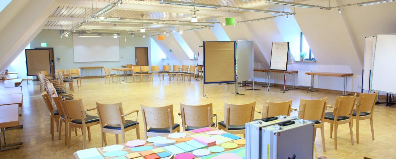Tagungsraum der Jugendherberge Altleiningen