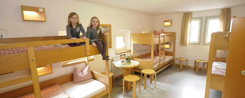 Zimmer der Jugendherberge Bacharach