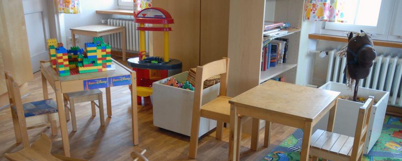 Spielzimmer der Jugendherberge Bacharach