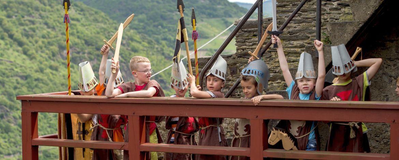 Erlebnisprogramm zum Thema Ritter in der Jugendherberge Bacharach