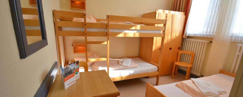 Zimmer in der Jugendherberge Bad Ems