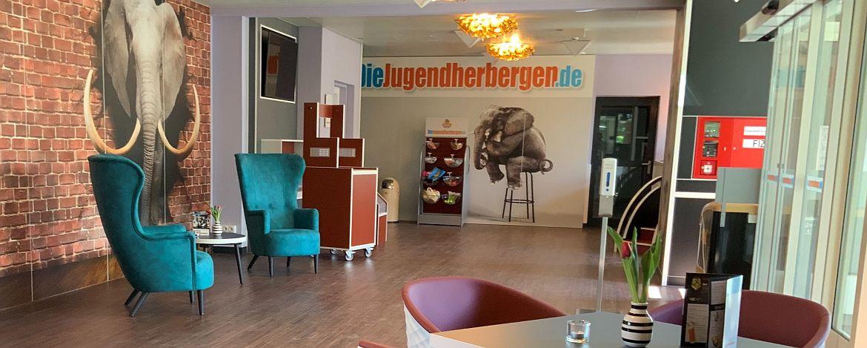 Eingangsbereich der Jugendherberge Bad Neuenahr-Ahrweiler