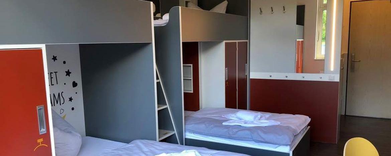 Zimmer der Jugendherberge Bad Neuenahr-Ahrweiler