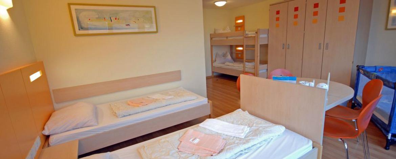 Zimmer in der Jugendherberge Bingen
