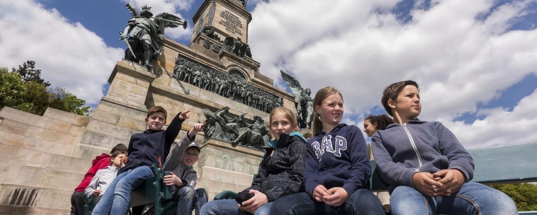 Ausflug zum Niederwalddenkmal bei Rüdesheim – Jugendherberge Bingen