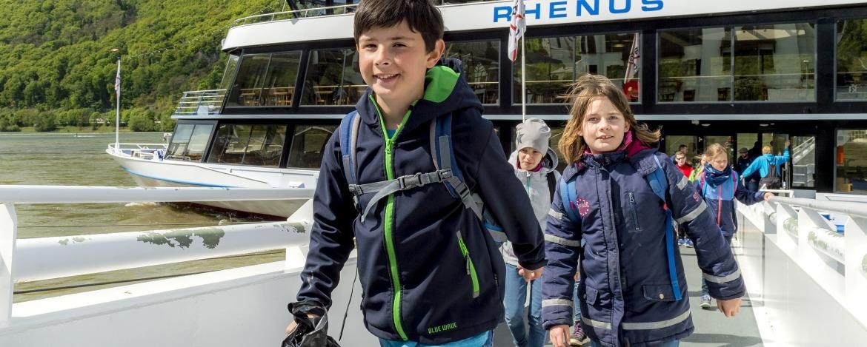 Schifffahrt auf dem Rhein – Jugendherberge Bingen