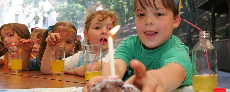 Kindergeburtstag in der Jugendherberge Dahn