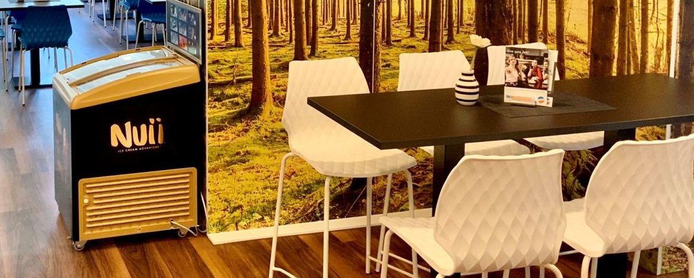 Suppe am Büfett der Jugendherberge Daun
