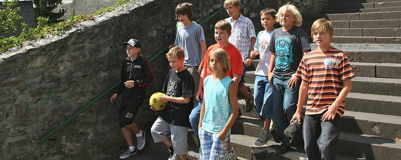 Schüler in Diez
