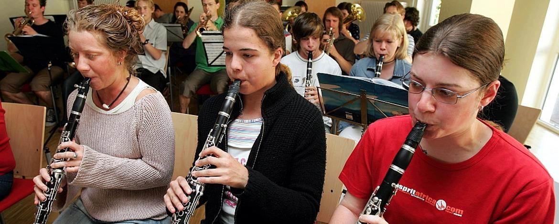 Musikprobe in der Jugendherberge Dreisbach