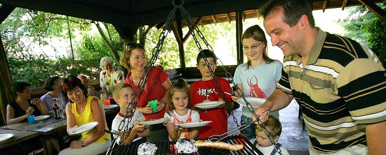 Gillhütte der Jugendherberge Hermeskeil