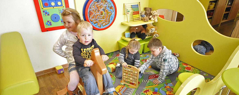 Kinderspielecke der Jugendherberge Hochspeyer