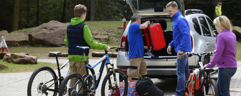 Familienurlaub mit dem Rad