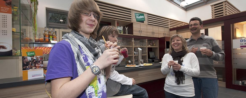 Café-Bar der Jugendherberge Kaub