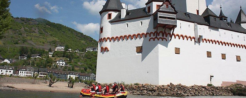 Raftingtour zur Zollburg Pfalzgrafenstein