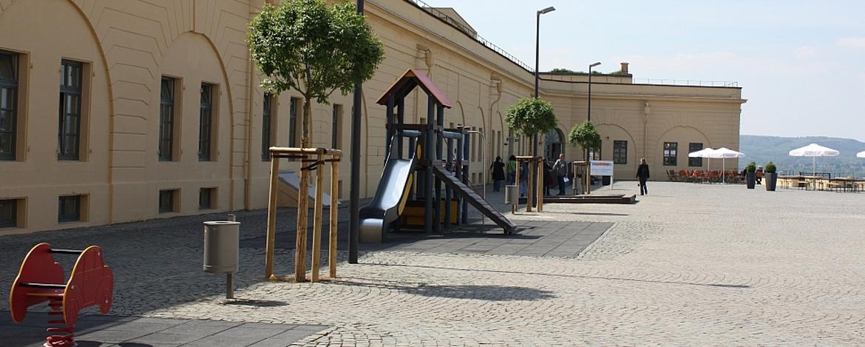 Spielplatz der Jugendherberge Koblenz