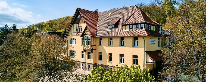 Blick auf die Jugendherberge Wernigerode